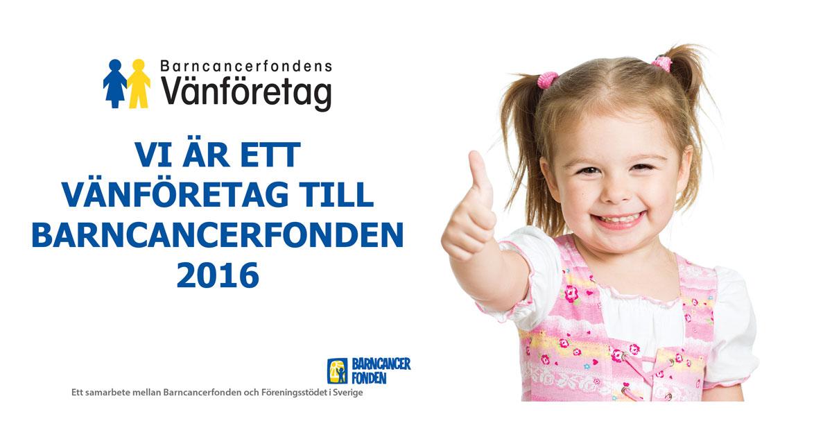 Meddelandelån vänföretag barncancerfonden flicka