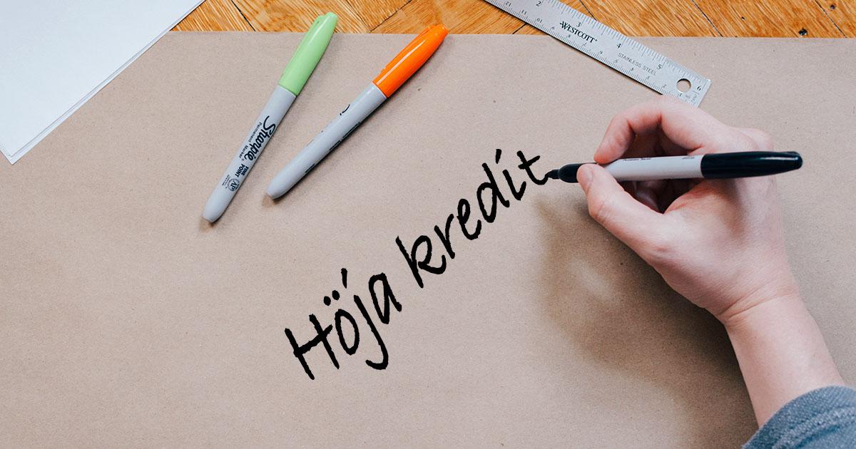 Hoja kreditgransen hos FlexLimit.se