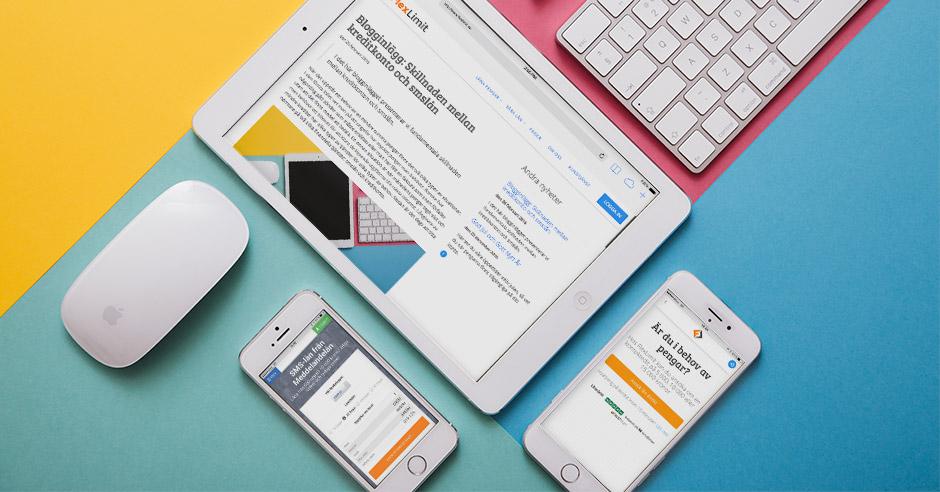 FlexLimit blogginlägg kreditkonto smslån snabblån