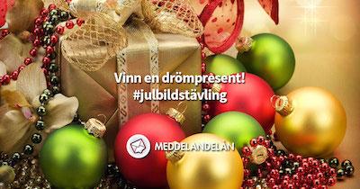 Meddelandelån julbildstävling facebook