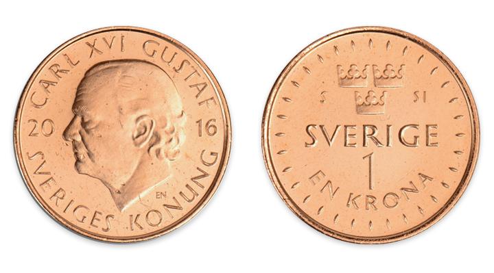 Sedelbytet i Sverige Meddelandelån 1 krona